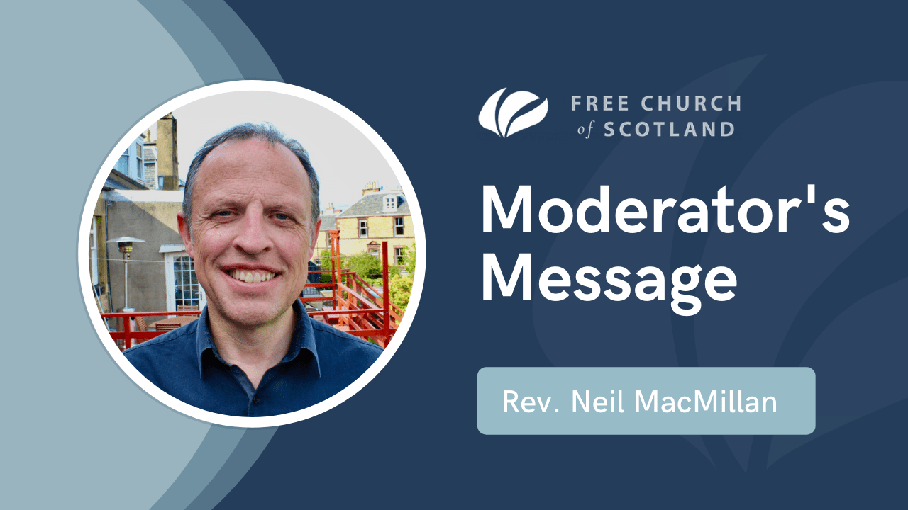 Moderator's Message